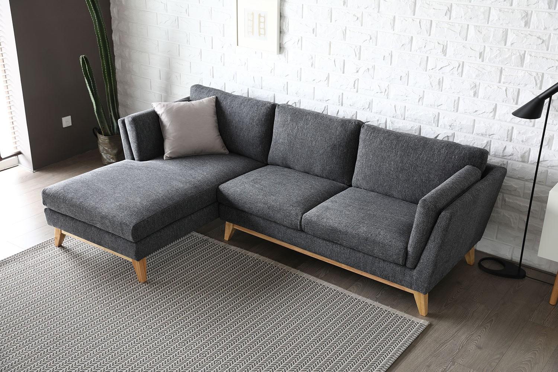 Canapé dangle design gris Safia   Canapé, Chaise longue
