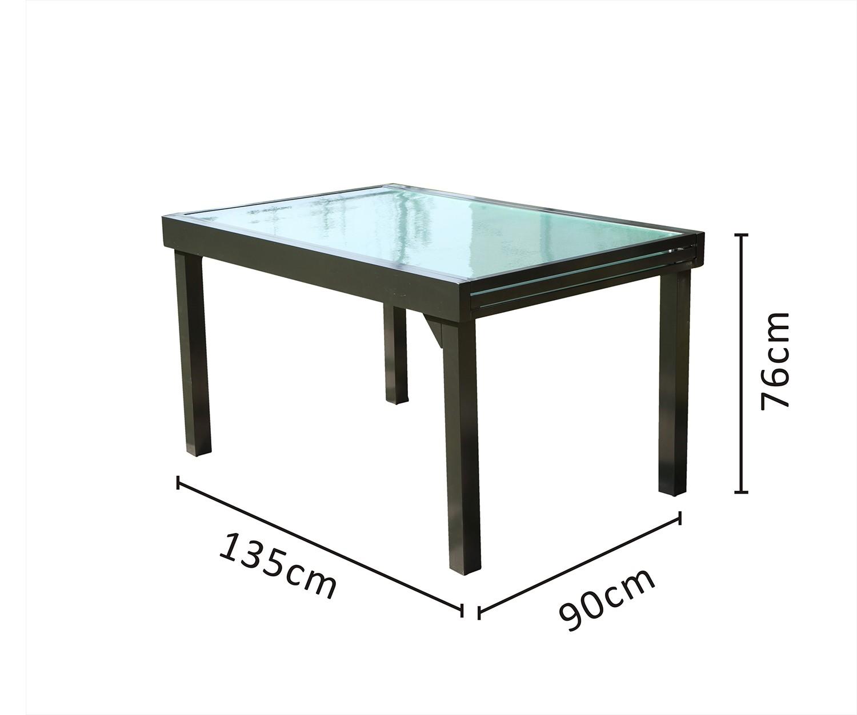 Table Lima Extensible 135270cm Table Lima LAjR45