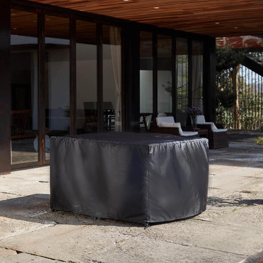 housse de salon de jardin 119x119x70cm. Black Bedroom Furniture Sets. Home Design Ideas