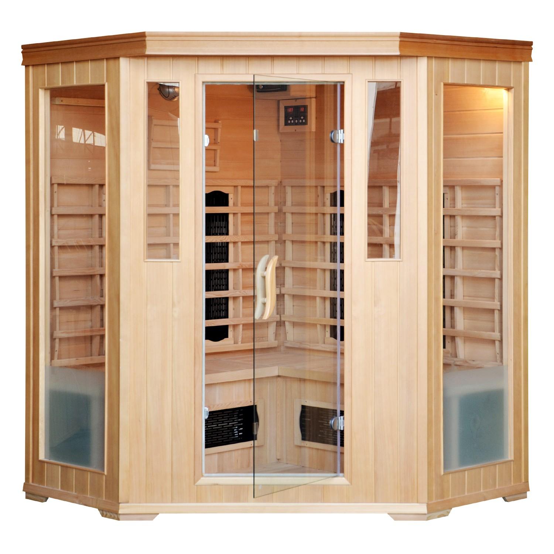 brevik sauna 4 places technologie infrarouge saunas. Black Bedroom Furniture Sets. Home Design Ideas