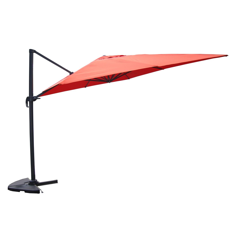 parasol d port cesare terracotta concept usine. Black Bedroom Furniture Sets. Home Design Ideas