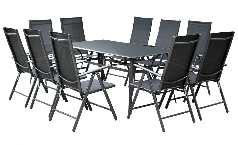 piura 10 places ensemble de jardin aluminium ensembles. Black Bedroom Furniture Sets. Home Design Ideas