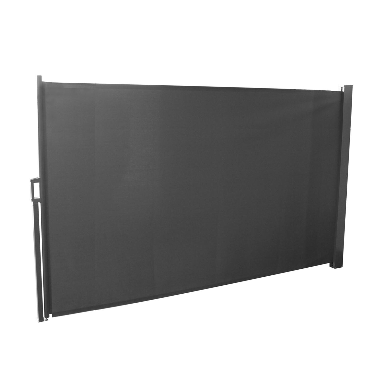 gr o gris xl brise vue d roulant paravent ext rieur extensible. Black Bedroom Furniture Sets. Home Design Ideas