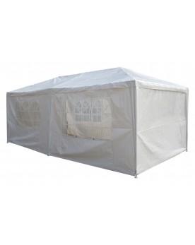 Corinthe blanc - Chapiteau de réception à fermer 3x6m
