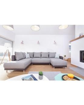 Minty panoramique gauche bicolore