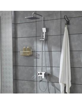Sania Colonne de douche avec écran LCD intégré