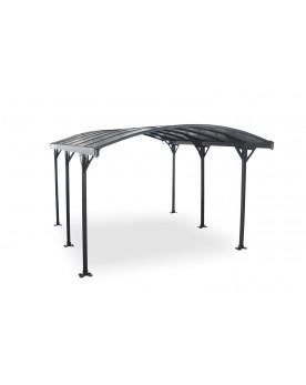 Couvrea 4m : abri de voiture, carport en aluminium 4,3 x 3 m