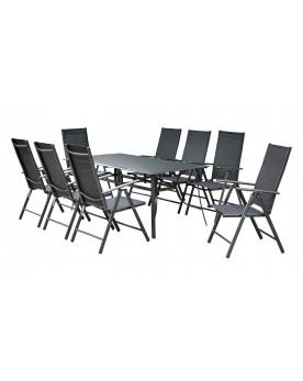 Salons de jardin en aluminium & acier : de 6 à 12 places...