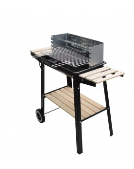 Vulcain - Barbecue charbon 3 tablettes