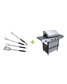 Cronos - Barbecue gaz 4 brûleurs