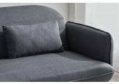 Canapé scandinave gris 3 places