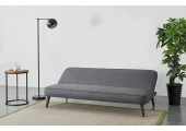 Banquette convertible grise Amba